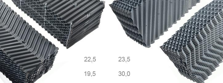 Technologie pro chladicí věže - Chladící výplně