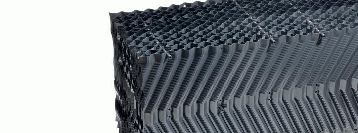 Technologie pro chladicí věže - Chladící výplně - Typ 19,5